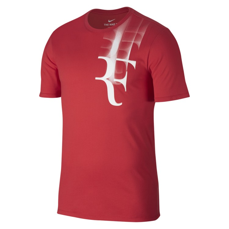 Roger Federer 2017 Coupe Rogers RF Shirt Red