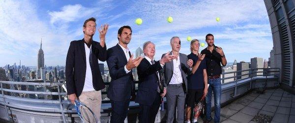Roger Federer Laver Cup NYC