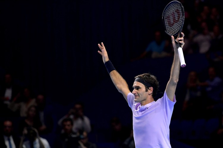 Roger Federer 2017 Swiss Indoors Basel