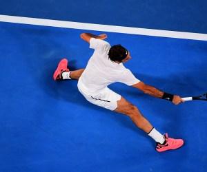 Roger Federer 2018 Australian Open
