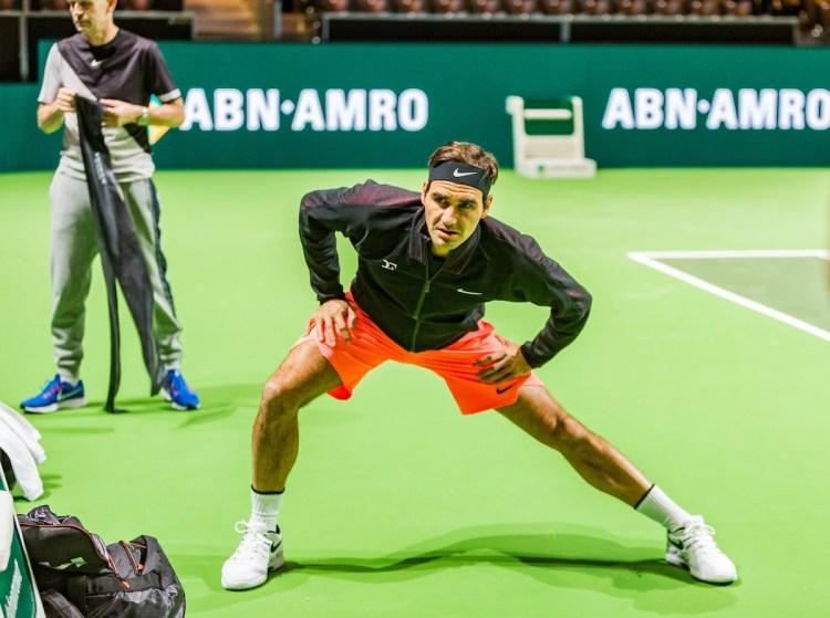 Roger Federer 2018 Rotterdam Open - ABN AMRO World Tennis Tournament - 2018 Rotterdam Open Draw
