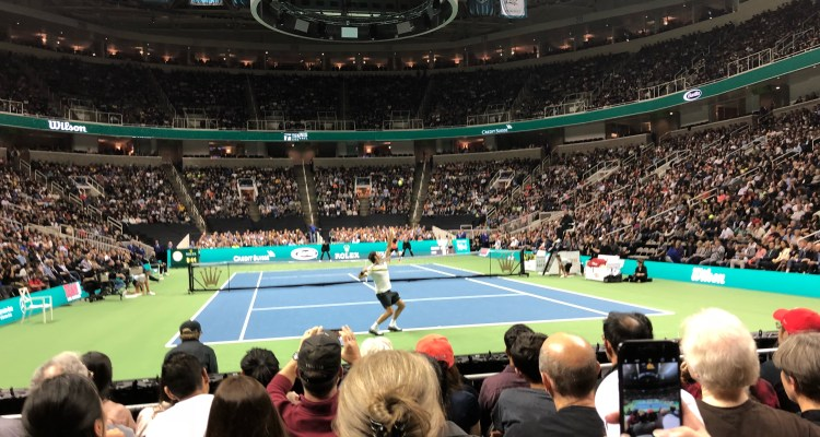 Roger Federer Match for Africa 5 Silicon Valley San Jose