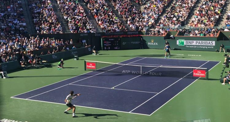 Roger Federer 2018 BNP Paribas Open (Indian Wells BNPPO18)