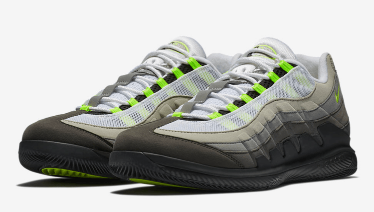 NikeCourt Vapor RF x AM95 - Roger Federer 2018 Indian Wells Nike Outfit
