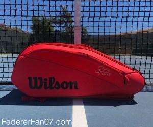 Federer DNA 2018 12 Pack Infrared Tennis Bag