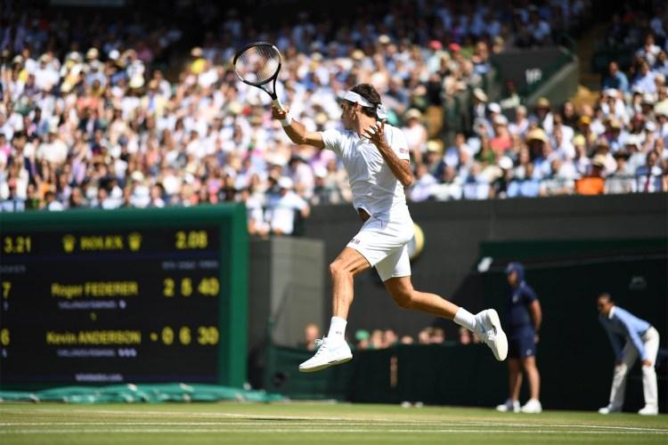 Anderson Upsets Federer in Marathon Wimbledon Quarterfinal