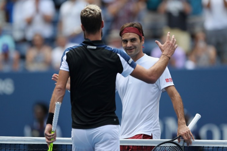 Federer Sets Kyrgios Clash at US Open