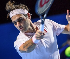 Federer Advances to 12th Consecutive Swiss Indoors Final