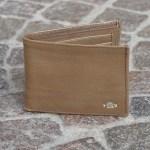 Roma Bifold Wallet Beige