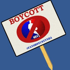 Sign to Boycott the NBA
