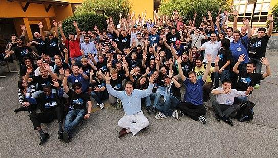 Group photo - FUDCon EMEA 2011 Milan