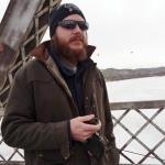Pete Travis on bridge