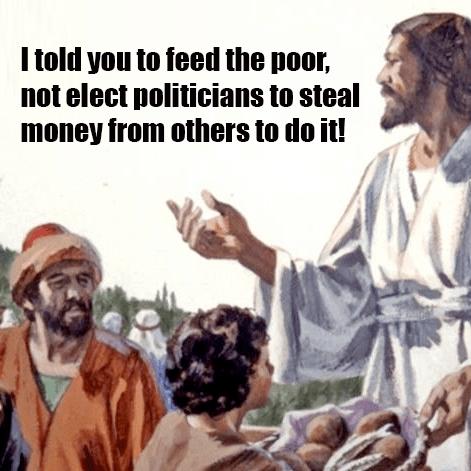 Libertarian Jesus Memes Lampoon Leftists - Foundation for Economic Education