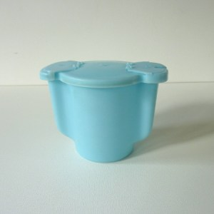 Sucrier bleu