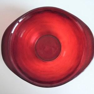 bol à oreilles sierra arcopal verre givré rouge