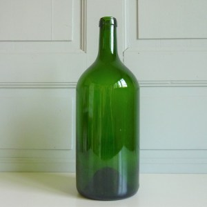 grande bouteille verte 3 litres ancienne