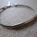 Leather Bracelet With Tube