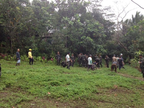 FEED, UPLB Tree Planting with Philippine Army