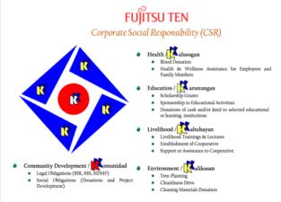 FujitsuTenCSR