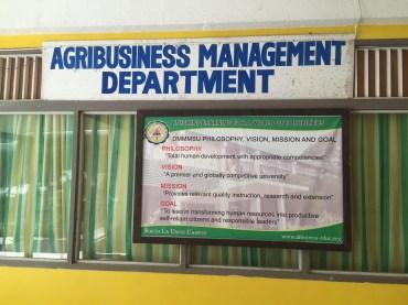 AgriBusiness Management Vision of DMMSU