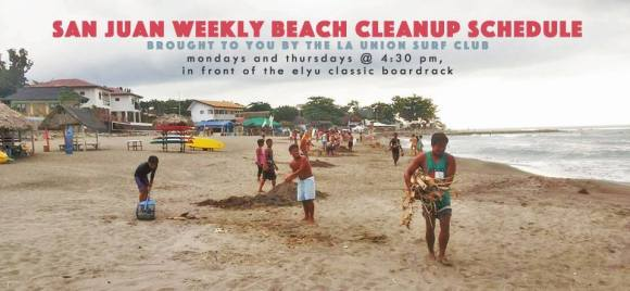 Weekly Beach Cleanups