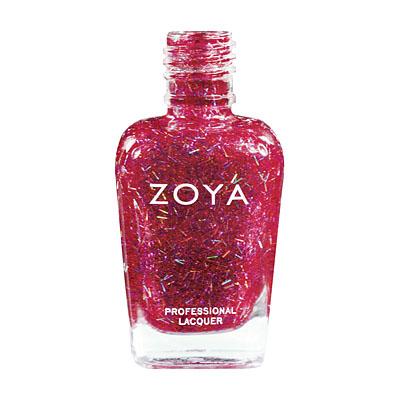 A bottle of ZOYA Kissy.