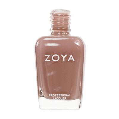 A bottle of ZOYA Flowie.