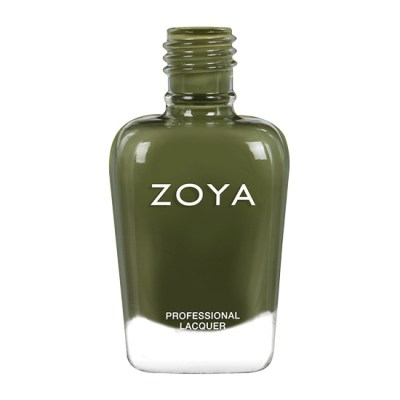 A bottle of ZOYA Cooper from the fall 2021 Nostalgic collection.