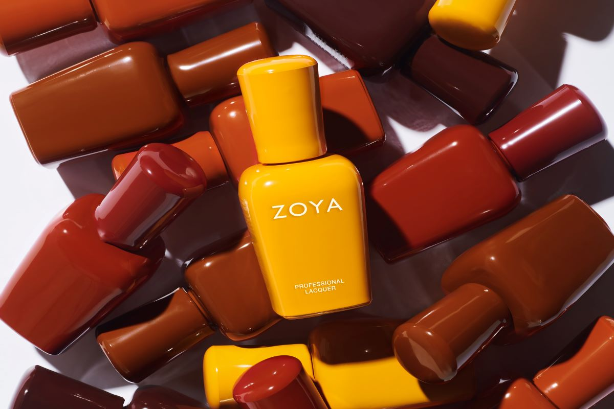 Feature image for ZOYA's fall 2021 Sunset Palette