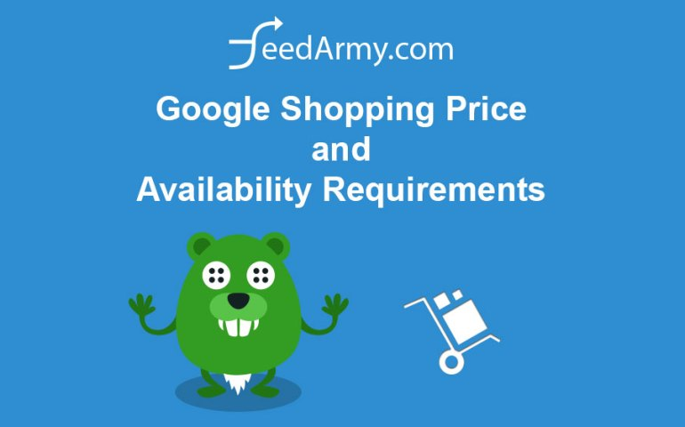 Google Shopping Price and Availability Requirements