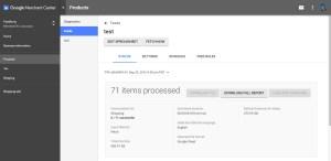 Google Merchant Download Full Report