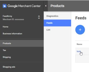 Google Merchant Feed