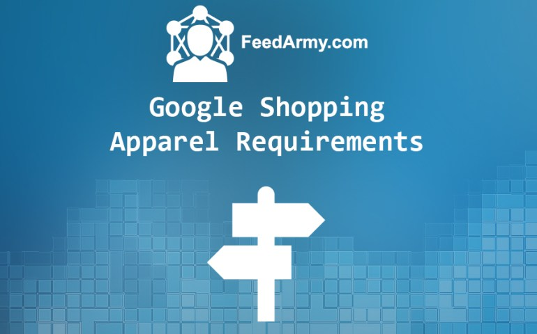 Google Shopping Apparel Requirements