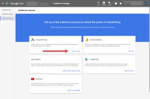 Google Ads Tag Setup