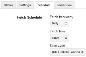 Google Merchant Daily Fetch