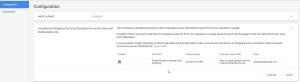 Google Merchant Comparison Shopping Services