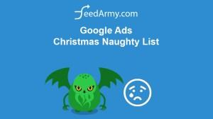 Google Ads Christmas Naughty List