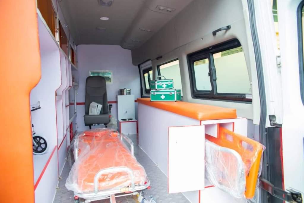 Covid 19 Ambulance inner