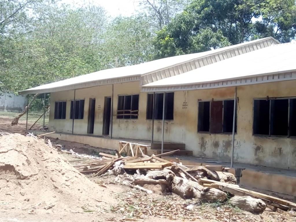Iresaadu classroom block 2