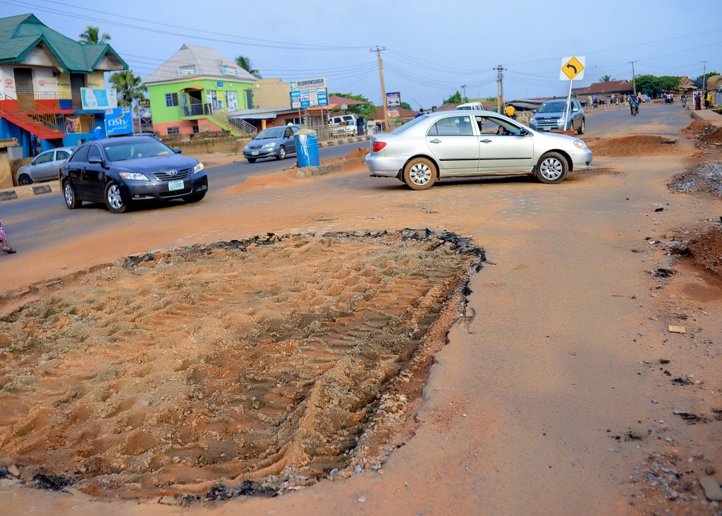 Picture of the rehabilitation of Pastor School, Isokun Road, Oyo Town. Oyo State Projects