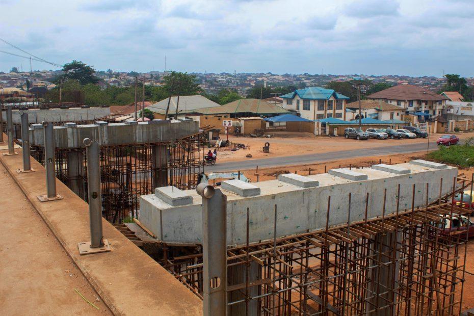 Picture of General Gas Flyover, Ibadan taken on June 22, 2021