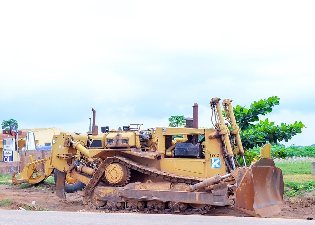 Picture of Oyo-Iseyin Road taken on July 16, 2021
