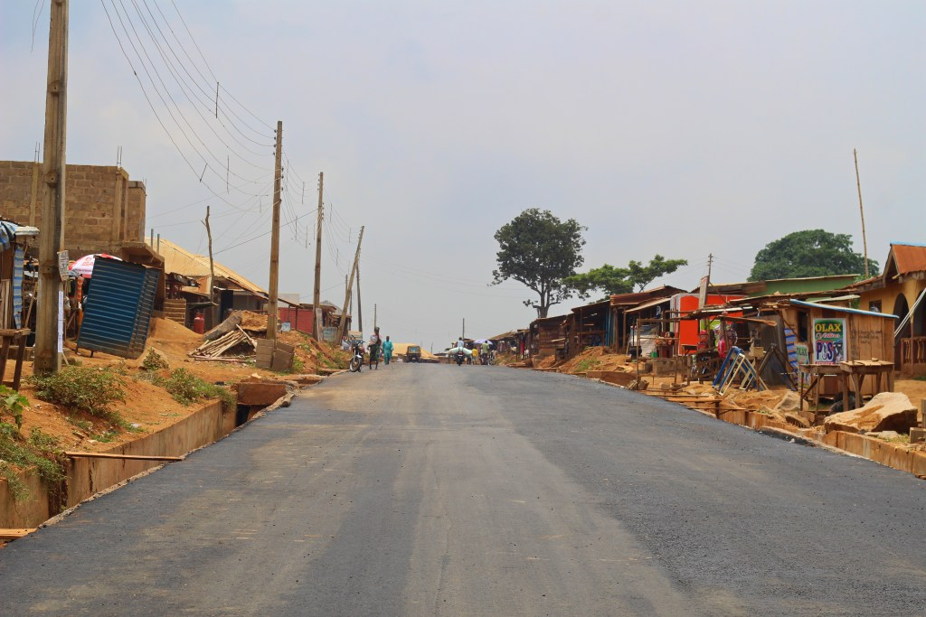 Picture of Airport-Ajia-New Ife Express Road with a spur to Amuloko taken on July 31, 2021