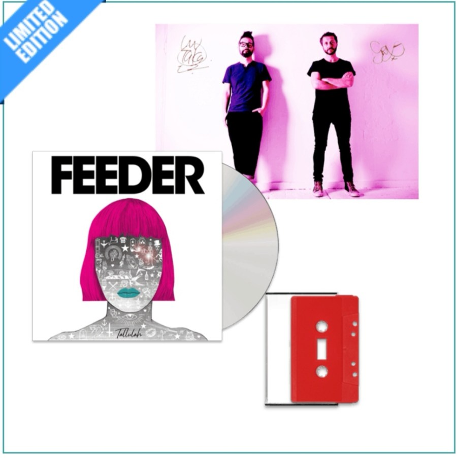 Tallulah red cassette and lithograph bundle