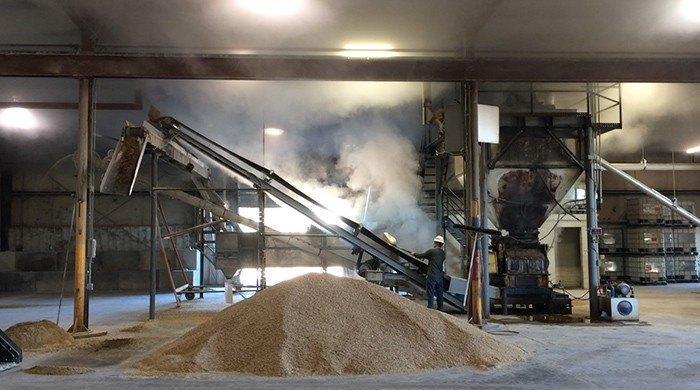 Feedex Steam Conditioning - Organic Livestock Feed - Our Facilities - organic livestock feed facility