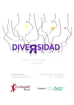 Exposición colectiva DIVERSIDAD