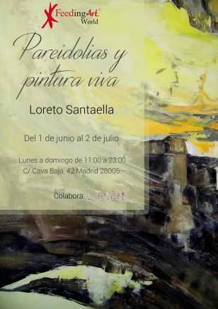 Exposición individural PAREIDOLIAS y Pintura Viva