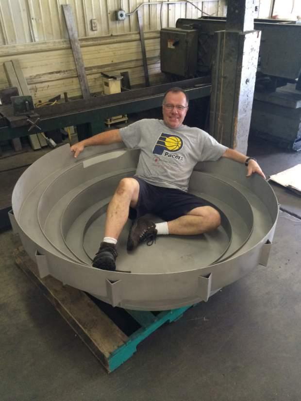 Largest Vibratory Feeder Ever Built