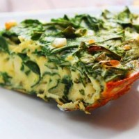 spinach and potato frittata Easy Recipe