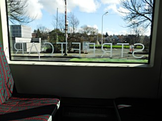 Streetcar window